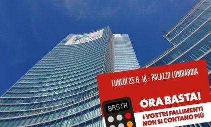 """""""Ora basta!"""": opposizioni in piazza contro la Giunta Fontana"""