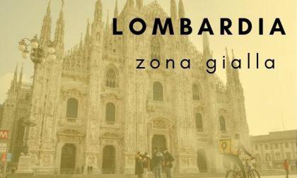 La Lombardia tornerà in zona gialla da lunedì 1 febbraio 2021