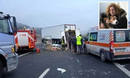 Incidente mortale in autostrada: muore l'animalista Elisabetta Barbieri