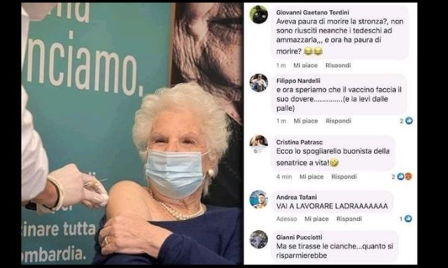 Liliana Segre social insultata