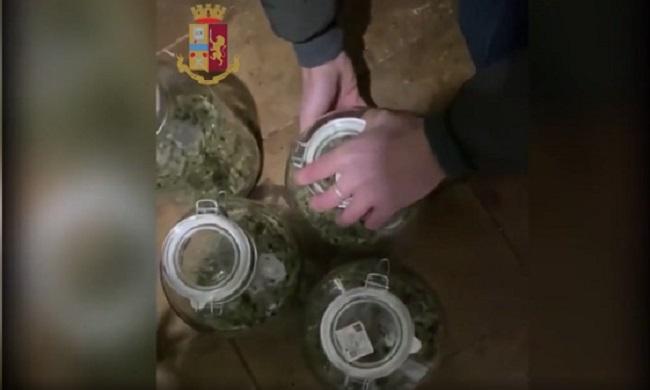 in casa serra di marijuana