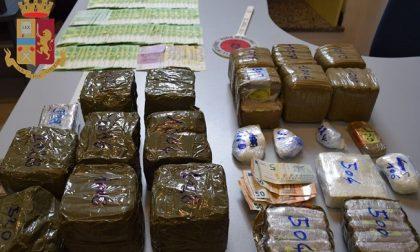Sequestrati 60 chili di droga dalla polizia, 4 persone in arresto