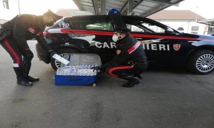 Contrabbando, sequestrati dai carabinieri 500 pacchetti di sigarette