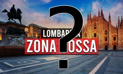 Lombardia verso la zona rossa: lockdown weekend, negozi chiusi e divieto di uscire di casa