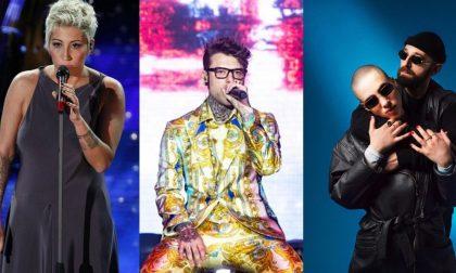 Prima serata del Festival di Sanremo: Milano fa il tifo per Fedez, Malika Ayane e Coma-Cose