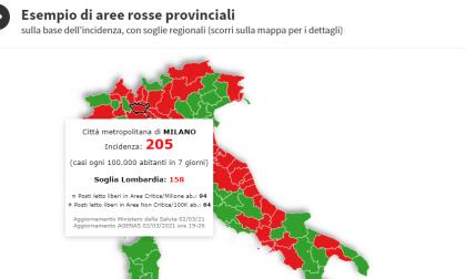 Scuole chiuse nei territori con 250 casi ogni 100mila abitanti: la situazione a Milano