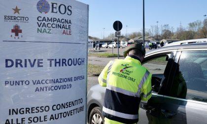 Sospese le vaccinazioni anti-Covid al drive through di Trenno