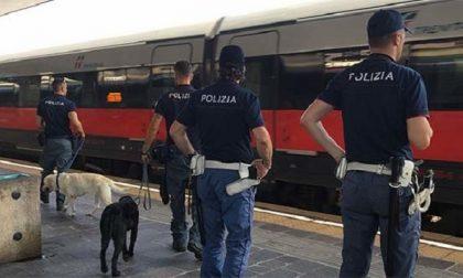 Servizi antidroga nelle stazioni milanesi: tre arresti della Polfer