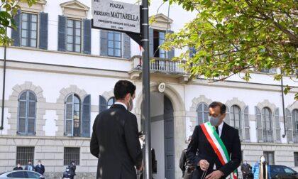 """Inaugurata la piazza dedicata a Piersanti Mattarella, Sala: """"Diffondere la legalità"""""""