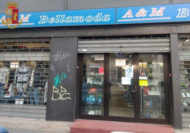 Questore sospende licenza bar e negozio