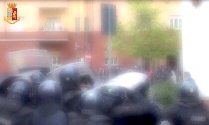 Assembramento per video del rapper e sassi contro la polizia: 13 perquisizioni