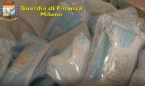 Commercio illegale di mascherine: sequestrati 7 milioni di dispositivi