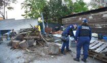 Sotto sequestro il campo nomadi di via Bonfadini-Zama utilizzato come discarica abusiva
