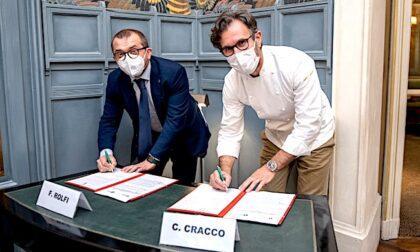 Promozione del panettone e della polenta: accordo tra Carlo Cracco e Regione Lombardia
