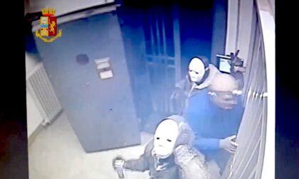 Rapina da film in banca: presa la banda del buco