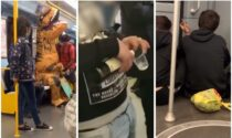 Metro che prendi, pazzi che trovi: dal dinosauro all'ubriaco, da chi fuma a chi canta