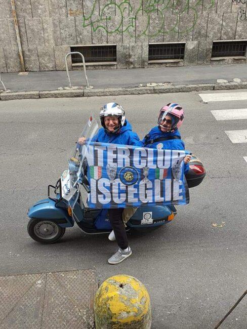 Puglia San Siro Vespa scudetto Inter