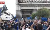 Festa scudetto Inter domenica: 1000 spettatori a San Siro e piazza Duomo blindata