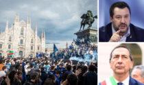 """Salvini sui 30mila dell'Inter: """"Milano ha ancora un sindaco?"""". Sala replica: """"Ministro per caso"""""""