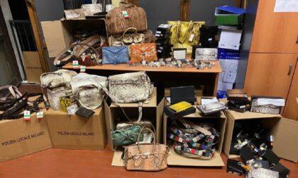 In vetrina vendevano costosissime borse di pelle di animali in via d'estinzione: sequestri in boutique a Milano