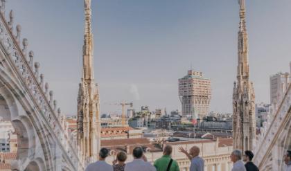 Duomo: tornano le visite serali sulle terrazze della cattedrale