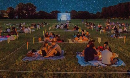 Picnic e cinema sotto le stelle, una serata diversa in quel di Milano