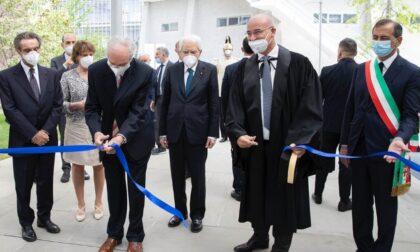Nuovo campus di architettura del Politecnico, Mattarella presente all'inaugurazione