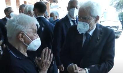 Mattarella in visita al centro di recupero Exodus di don Antonio Mazzi