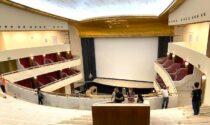 Terminato il restauro del Teatro Lirico intitolato a Giorgio Gaber