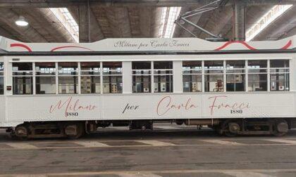 Ecco il tram bianco dedicato da Atm a Carla Fracci