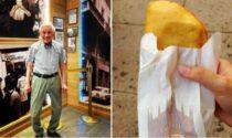 Luigi Luini, il patron dei panzerotti di Milano, compie oggi 90 anni
