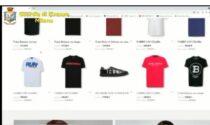 Vendevano vestiti di lusso contraffatti in rete: 7 indagati, sequestrati 4 milioni in merce