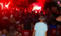 Milano si tinge Tricolore: festeggiamenti fino a tardi, boom di interventi del 118
