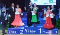 Luca Marzi e Sonia Febbraro sono campioni Italiani Fids di danze standard