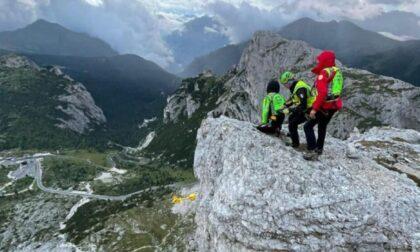 Precipita per cinquanta metri sul Lagazuoi, muore alpinista milanese di 48 anni