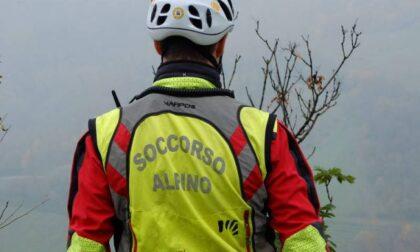 62enne milanese salvato in montagna dopo esser caduto per 20 metri nel vuoto