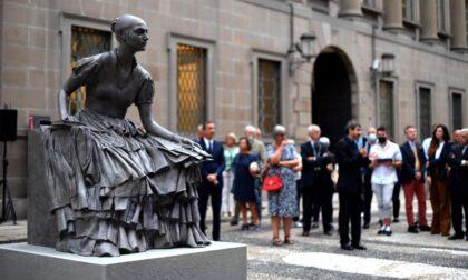 La prima donna ad avere una statua nella grande Milano è Cristina Trivulzio di Belgiojoso