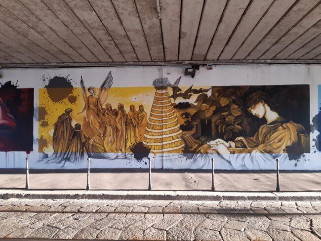 Dante Alighieri Naviglio street art
